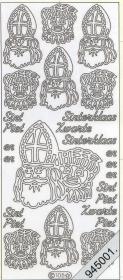 Stickers Motive / Figuren - gold