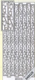 Pegatinas Bordüren / Linien - plata