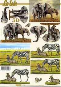 Carta per 3D Elefant - Formato A4