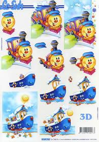 3D sheet Spielzeug - Format A4