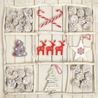 Lunch napkins Xmas Handmade Decorations