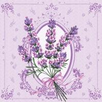 Lunch napkins lavender
