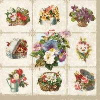 Lunch napkins Blumen