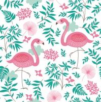Lunch Tovaglioli Flamingi
