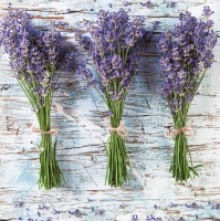 Lunch Servietten Three Bunches of Lavender