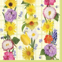 Lunch napkins Spring Flower Mix