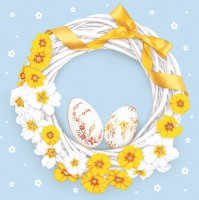 Lunch Servietten Easter wreath