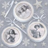 Servilletas 33x33 cm - Antiguo Vintage Navidades