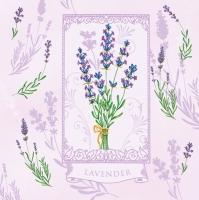 Lunch Servietten Lavendel lilac