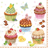 Serviettes lunch Party Cupcakes
