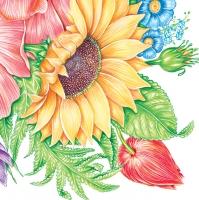 Lunch napkins Sonnenblume
