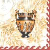 Lunch Servietten Römische Vase