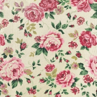 Lunch napkins Rose Fabric