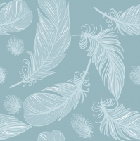 Lunch napkins Graphic Feathers