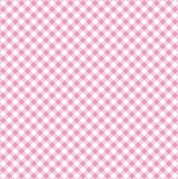 Lunch Servietten Diagonal Pink Check