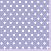Lunch Servietten Lavender Dots II