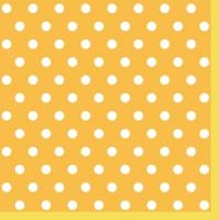 Lunch Servietten Yellow Dots II