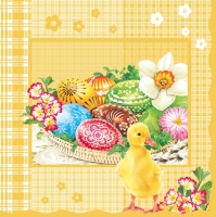 Serviettes lunch Easter Baskets