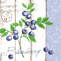 Serviettes dinner BLUEBERRY