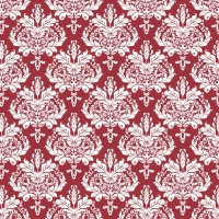 50 Linclass Dinner Napkins - CASPER bordeaux