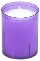 24 Refill Cups lilac