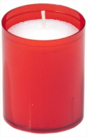 24 Refill Cups rouge