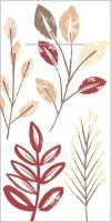 100 Pocket Napkins CEDRIK Bordeaux-braun