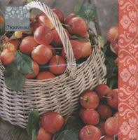 Lunch Servietten Apple Basket