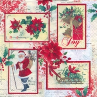 Lunch napkins X-Mas Cards