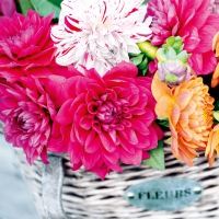 Lunch napkins Dahlia Basket