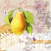 Lunch napkins Botany Pear