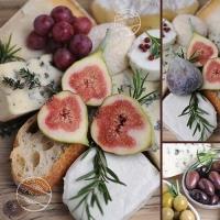 Lunch napkins C´est La Vie