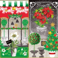 Lunch napkins Xmas Collage