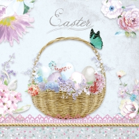 Serviettes lunch Pastel Easter