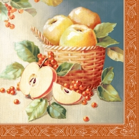 Lunch napkins Apple Picking