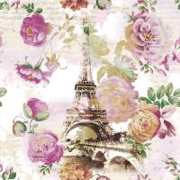 Tovaglioli 33x33 cm - Tour Eiffel