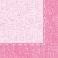 Serviettes dinner Linum rosa