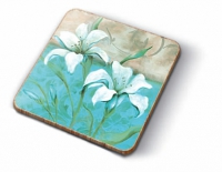 Cork coasters Chic Lily