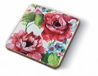 Posavasos de corcho Watercolor Roses