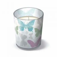 Candles in a glas Soft butterflies