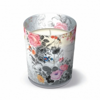 Velas en un vaso Royal Rose