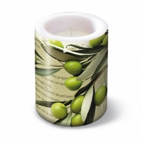 Bougies Lantern Greek Olives