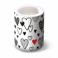 Bougies Lantern Crazy Love