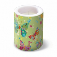 Velas Butterfles Around