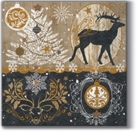 Cocktail napkins Royal Deer