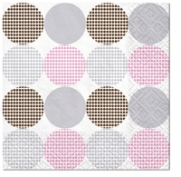 Servilletas Cocktail Dotsy Dots rosa K