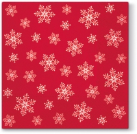 Cocktail napkins Stars Everywhere (red)
