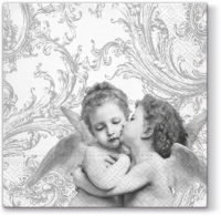 Lunch napkins Sweet Angels silver