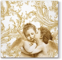 Lunch napkins Sweet Angels gold