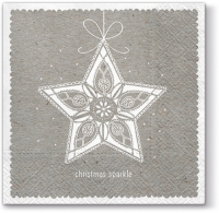 Napkins 33x33 cm - Simple Star